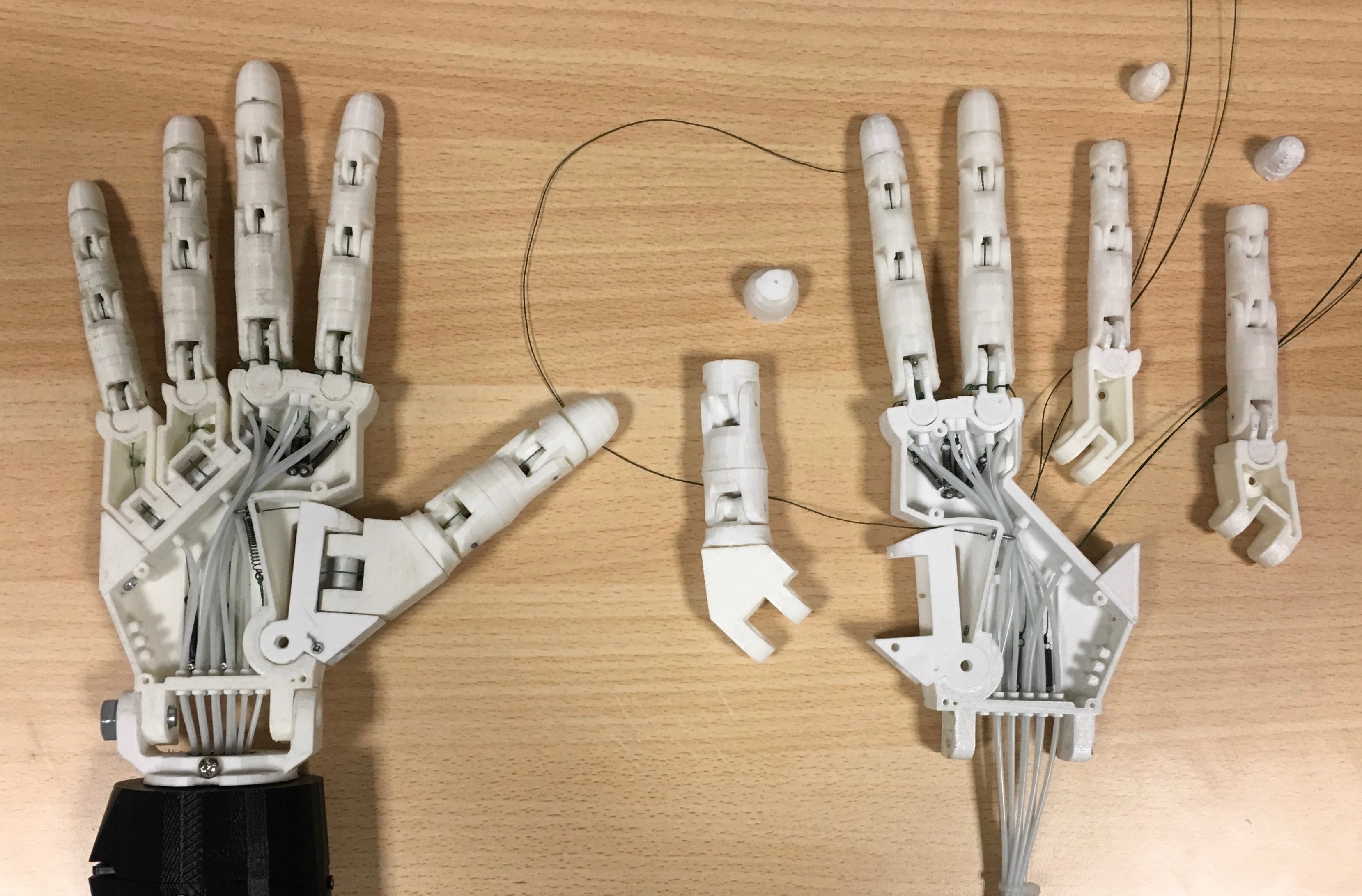 Parloma Robotic Hand Builds and Upgrades